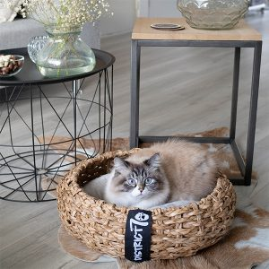 rieten kattenmand district 70 cocoon honden en kattenzooi